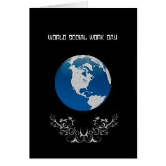 World Social Work Day Card