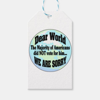 world sorry2 gift tags