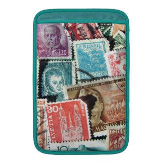"World Stamp Collage Macbook Air 11"" Sleeve Sleeve For MacBook Air"
