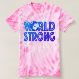 World Strong Tie-Dye T-Shirt