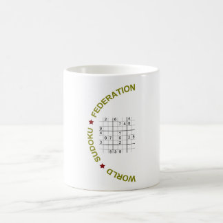 World Sudoku Federation Coffee Mug