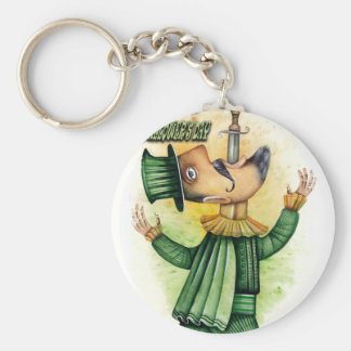World Sword Swallower's Day - Appreciation Day Key Ring