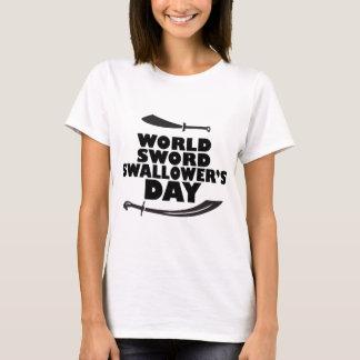 World Sword Swallower's Day - Appreciation Day T-Shirt