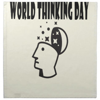 World Thinking Day - Appreciation Day Napkin