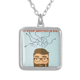 World Thinking Day - Appreciation Day Silver Plated Necklace