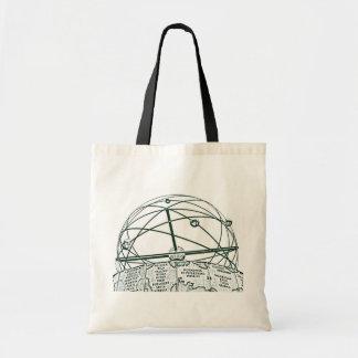 World Time Clock,Alexanderplatz,Berlin,B&W(pc) Bags