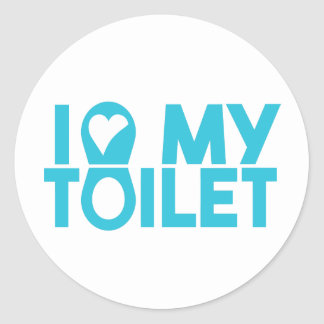 "World Toilet Day ""I Love My Toilet"" Sticker"