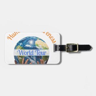 World Tour Luggage Tag