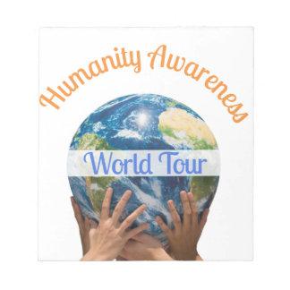 World Tour Notepad