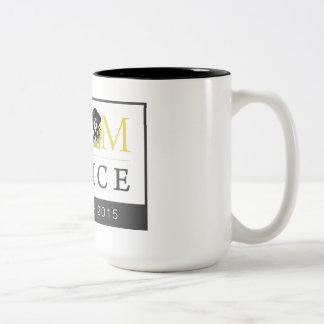 World Tour Two Tone Coffee Mug