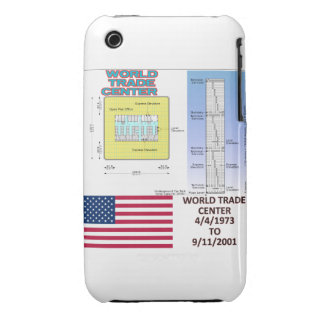 World Trade Center Floor Plan Blackberry Curve  Ca iPhone 3 Case-Mate Cases