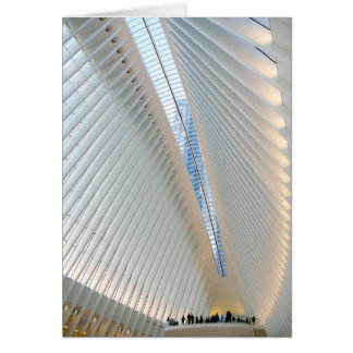 World Trade Center Transportation Hub, NY Card
