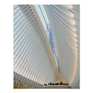 World Trade Center Transportation Hub, NY Poster