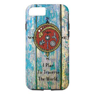 WORLD TRAVEL PLANS by Slipperywindow iPhone 8/7 Case