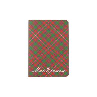 World Traveler Clan MacKinnon Tartan Plaid Passport Holder