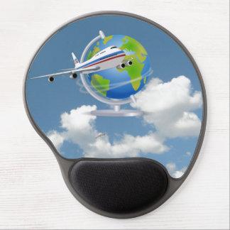 World Traveler Gel Mouse Pad