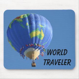 World Traveler Mouse Pad