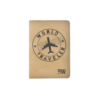 World Traveler Passport Holder