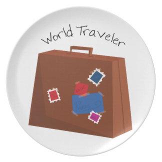 World Traveler Dinner Plates