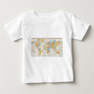 World Traveler Time Zones of Europe and Africa Baby T-Shirt