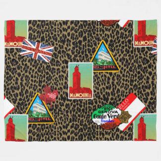 world traveller blanket