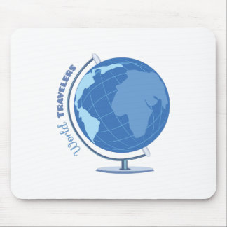 World Travellers Mouse Pad