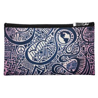 World Trip Cosmetic Bag