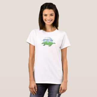 World Turtle Day Creation Firmament Flat Earth Tee