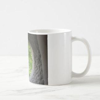 World view through hole coffee mugs