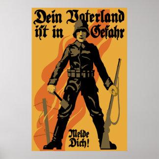 World War 1 German Recruitment Poster