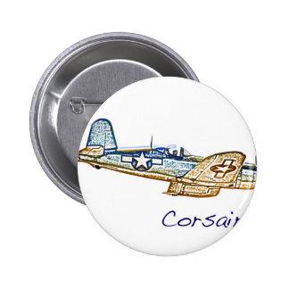 World War 2 Aircraft Convair 6 Cm Round Badge