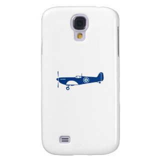 World War 2 Fighter Plane Spitfire Retro Galaxy S4 Case