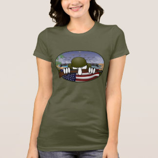 World War 2 Kilroy Ladies T-Shirt