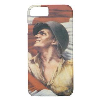 World War 2 Soldier iPhone 7 Case