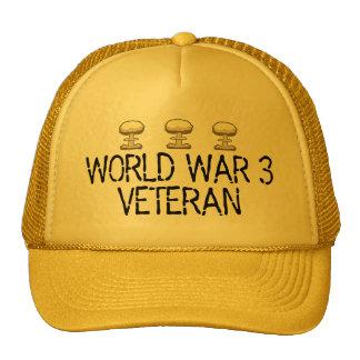 World War 3 Veteran Cap