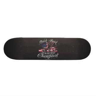World War Champions 21.3 Cm Mini Skateboard Deck