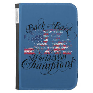 World War Champions Kindle 3G Cases
