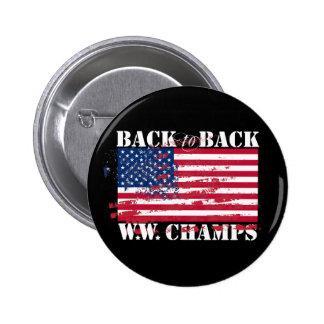 World War Champions Pins