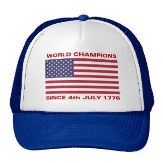World war champions since 1776 trucker hats