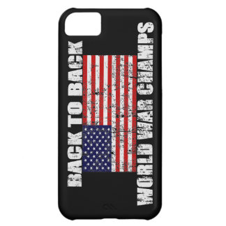 World War Champs Distressed US Flag iPhone 5 Case