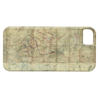 World War I Battle of the Canal du Nord Battle Map Case For The iPhone 5