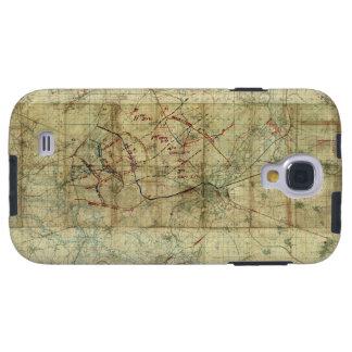 World War I Battle of the Canal du Nord Battle Map Galaxy S4 Case