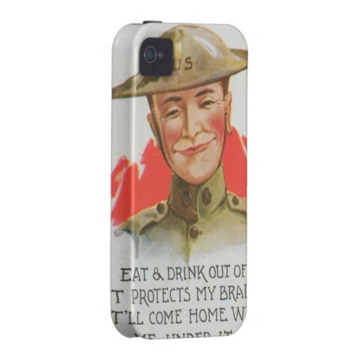 World War I iPhone 4 Cases