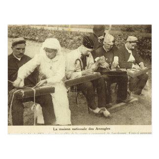 World War I,  France, Rehabilitation centre Postcard