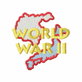 World War I I Embroidered Track Jacket