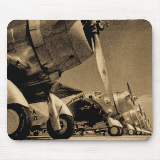 World War II Airplanes Douglas SBD Dauntlesses Mouse Pad