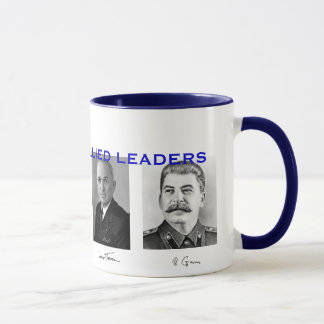 World War II Allied Leaders Mug* Mug