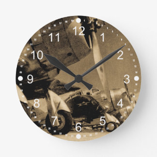 World War II Douglas SBD Dauntless Bomber Planes Clock