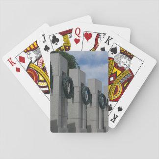 World War II Memorial Wreaths I Playing Cards