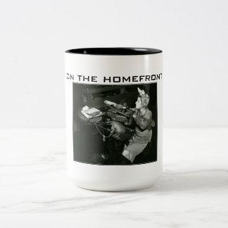 World War II - On the Homefront Beverage Mug